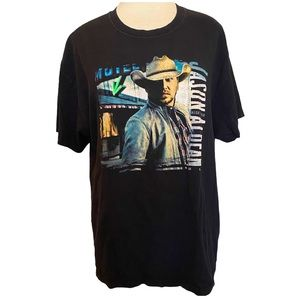 Jason Aldean Night Train Concert T Shirt Size XL